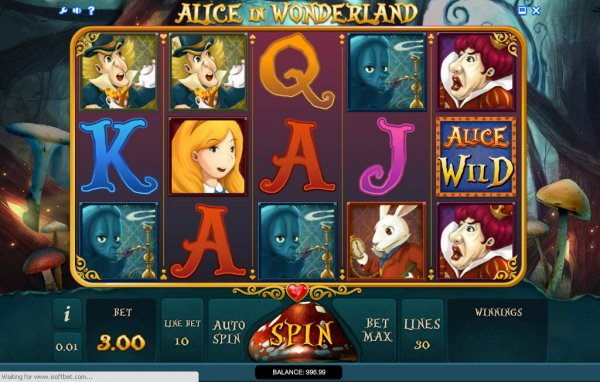 Alice of Wonderland slot